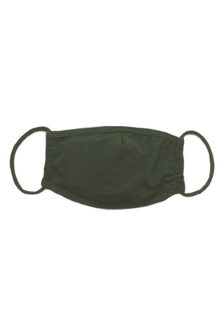 Olive Surgical Face Mask With Filter