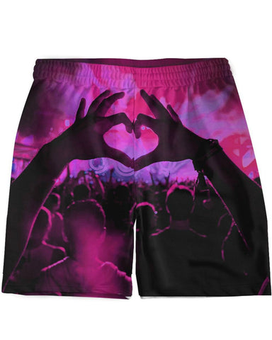 Party Heart Weekend Shorts -  rave wear, rave outfits, edc, booty shorts