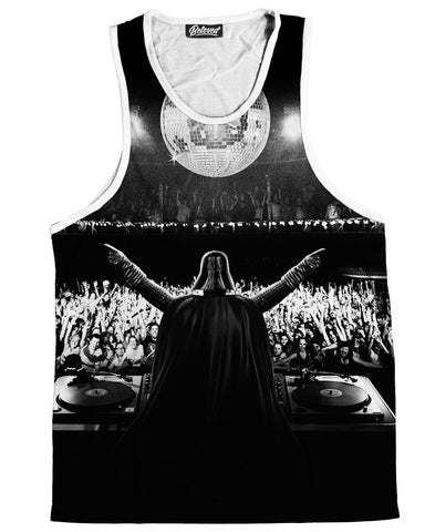 Party Vader Men's Tank Top -  rave wear, rave outfits, edc, booty shorts