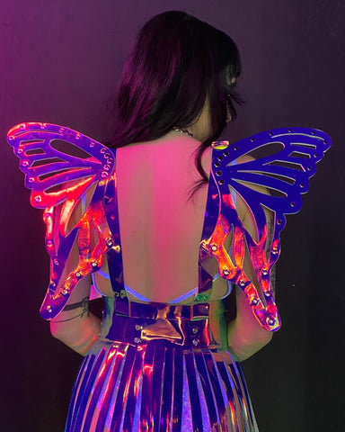 Dark Holo Wings Harness