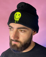Melty Smiley RW Rave Beanie