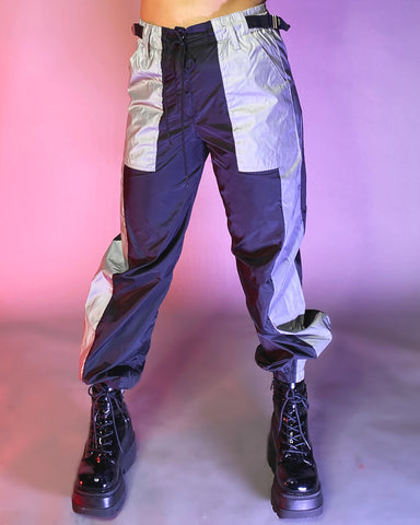 Flash Side Panel Reflective Jogger Pants