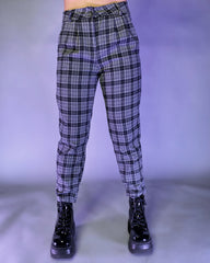 Punk'd Plaid Trousers