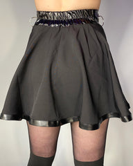 Empire Ring Pleated Skirt