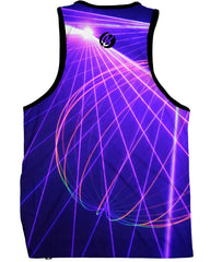 Rave On Men's Tank Top -  rave wear, rave outfits, edc, booty shorts