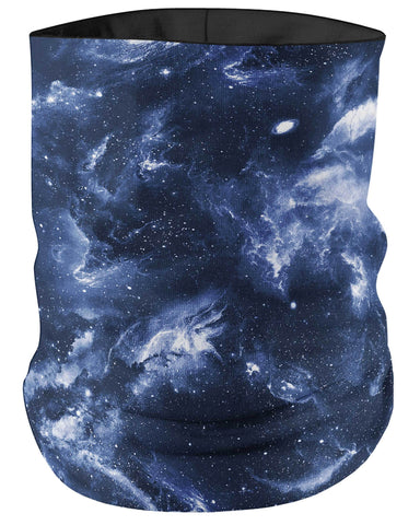 Deep Blue Space Bandanna Face Mask