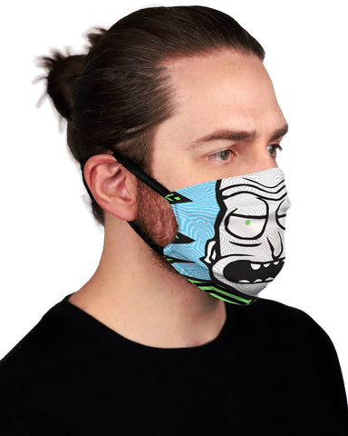 HANDMADE TO ORDER: Rick Face Mask