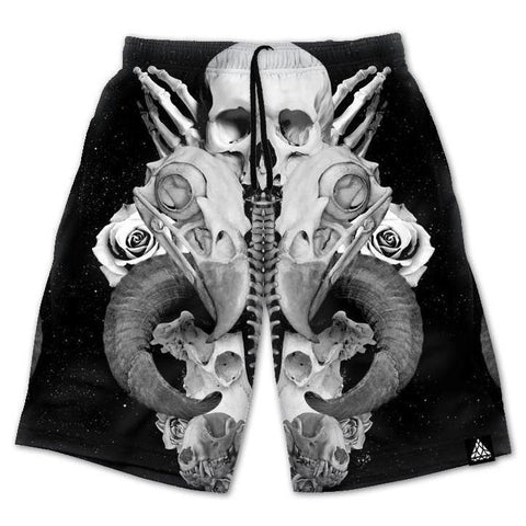 Set 4 Lyfe / Brandon Millward - BROKEN BONES SHORTS - Clothing Brand - Shorts - SET4LYFE Apparel