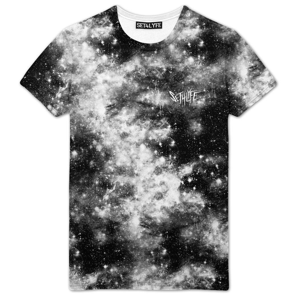 Set 4 Lyfe / Mattaio - DARK GALAXY T - Clothing Brand - Premium Tee - SET4LYFE Apparel