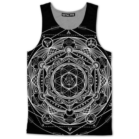 Set 4 Lyfe / Glenn Thomson - ESOTERIC DARK TANKTOP - Clothing Brand - Premium Tanktop - SET4LYFE Apparel