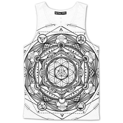 Set 4 Lyfe / Glenn Thomson - ESOTERIC LIGHT TANKTOP - Clothing Brand - Premium Tanktop - SET4LYFE Apparel