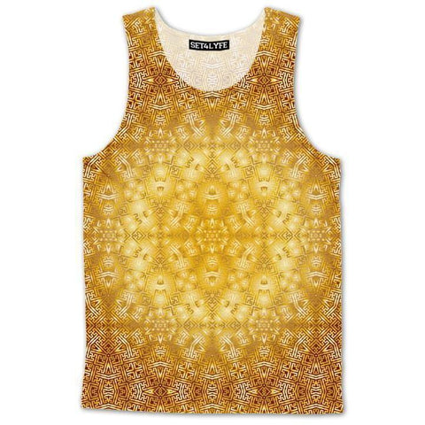 Set 4 Lyfe / Rooz Kashani - GOLDEN STAR SAYAGATA TANKTOP - Clothing Brand - Premium Tanktop - SET4LYFE Apparel