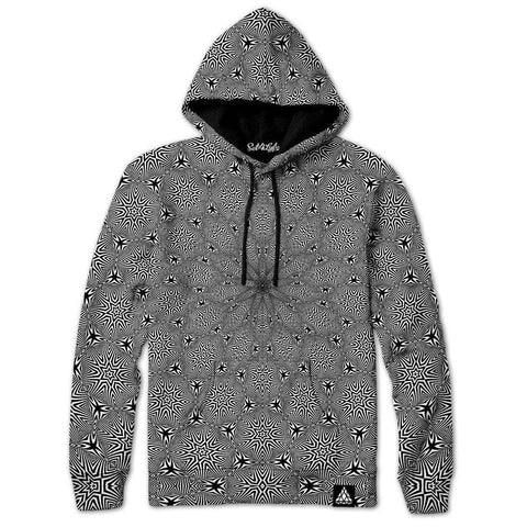 Set 4 Lyfe / Rooz Kashani - OPTICAL STAR VORTEX HOODIE - Clothing Brand - Pullover Hoodie - SET4LYFE Apparel
