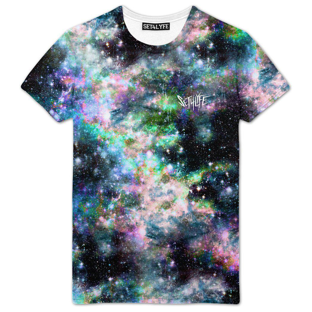 Set 4 Lyfe / Mattaio - STRANGE GALAXY T - Clothing Brand - Premium Tee - SET4LYFE Apparel