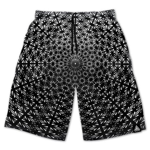 Set 4 Lyfe / Rooz Kashani - ASANOHA TETRA FADE PORTAL SHORTS - Clothing Brand - Shorts - SET4LYFE Apparel