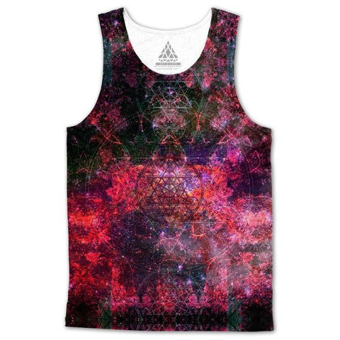 Set 4 Lyfe / DAQUALIA - PINEAL METATRON GALAXY TANKTOP - Clothing Brand - Premium Tanktop - SET4LYFE Apparel