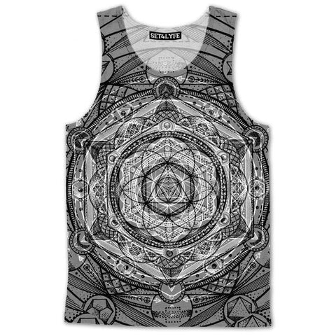 Set 4 Lyfe / Glenn Thomson - ESOTERIC DREAM TANKTOP - Clothing Brand - Premium Tanktop - SET4LYFE Apparel