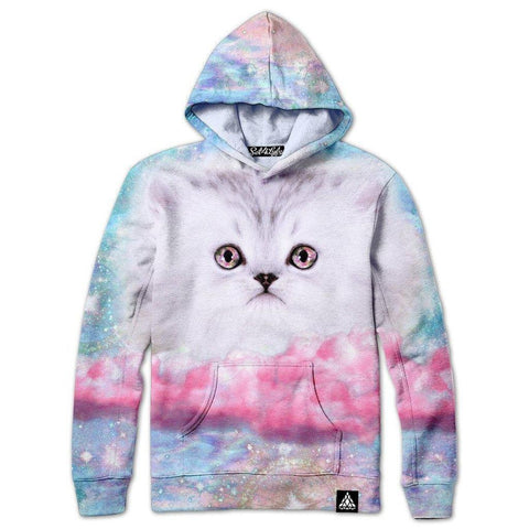 Set 4 Lyfe / Mattaio - FLUFFY SPACE MUNCHKIN HOODIE - Clothing Brand - Pullover Hoodie - SET4LYFE Apparel