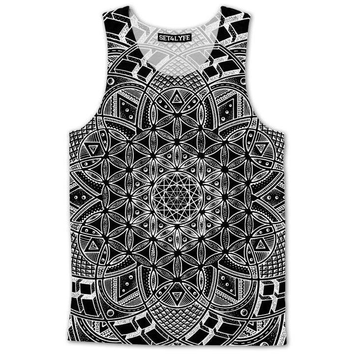 Set 4 Lyfe / Glenn Thomson - IMAGINATRIX DARK TANKTOP - Clothing Brand - Premium Tanktop - SET4LYFE Apparel
