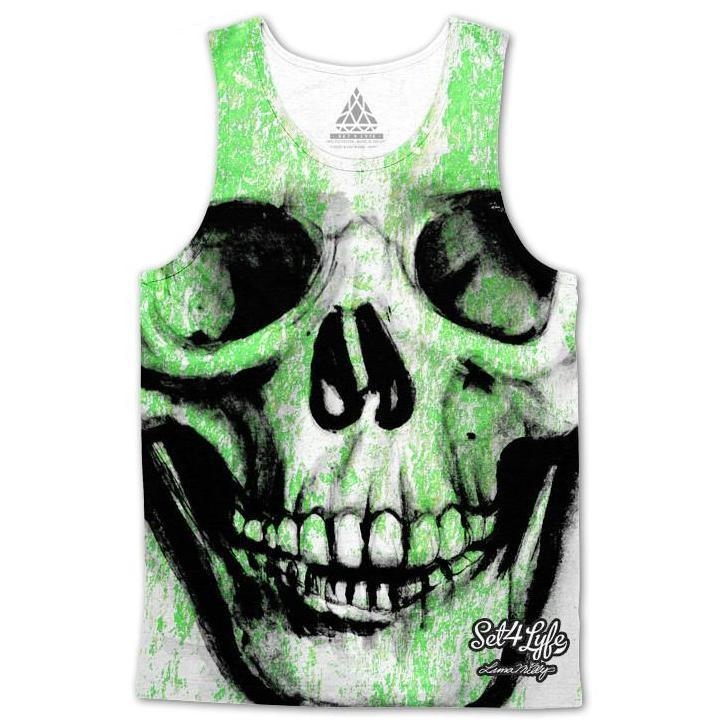 Set 4 Lyfe / Luna Milly - SKVLL TANKTOP - Clothing Brand - Premium Tanktop - SET4LYFE Apparel