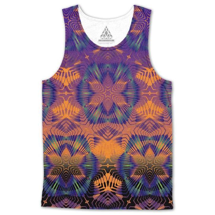 Set 4 Lyfe / Rooz Kashani - STARSEED MATRIX TANKTOP - Clothing Brand - Premium Tanktop - SET4LYFE Apparel