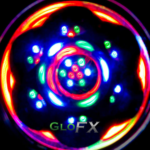 GloFX Clear Kaleidoscope Glasses - Sacred Lens