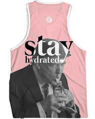 Stay Hydrated Trump Men's Tank Top -  rave wear, rave outfits, edc, booty shorts