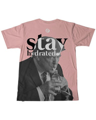 Stay Hydrated Trump Men's Tee -  rave wear, rave outfits, edc, booty shorts