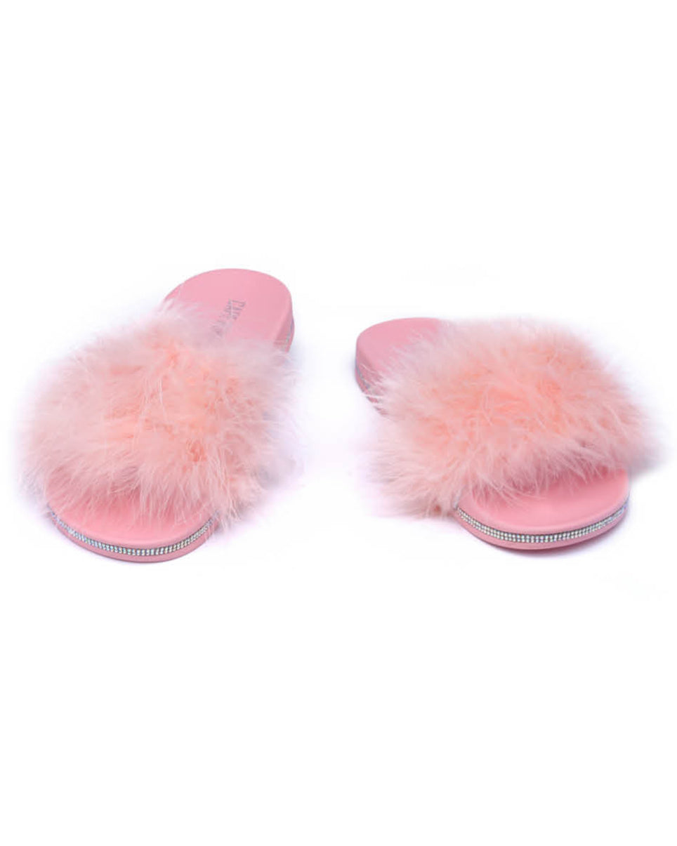 Sweet Blush Plushy Sandals