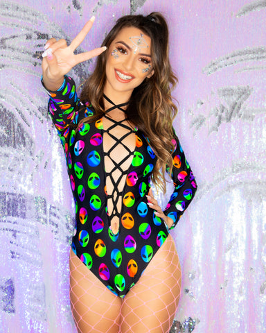 45daa8ea71 Bodysuits for Women s Rave Clothing   EDM Festival Outfits