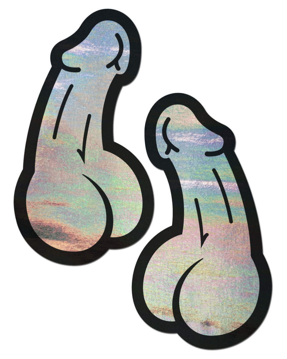 Big Dick Energy Holographic Pasties