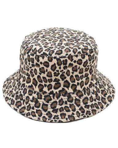 Cheetah Reversible Bucket Hat