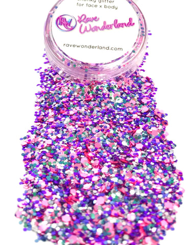 Fairy Dust Holographic Iridescent Body and Face Festival Glitter (Large 15 Grams)