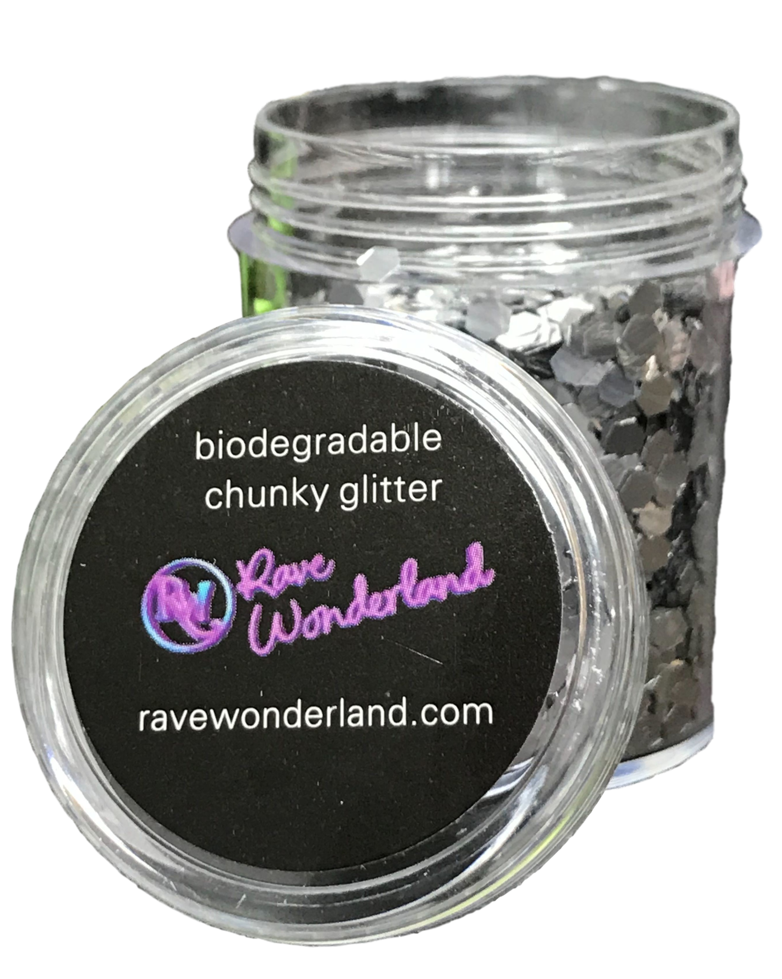 Biodegradable Silver Body and Face Festival Glitter