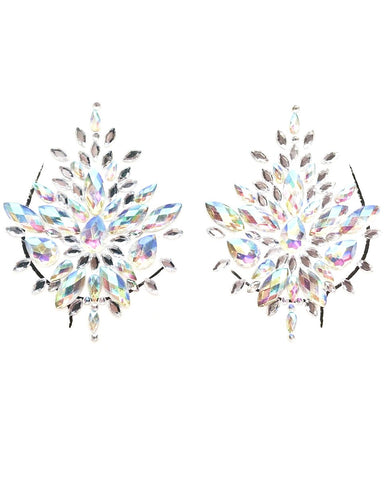 Iridescent Self-Adhesive Jewel Pasties