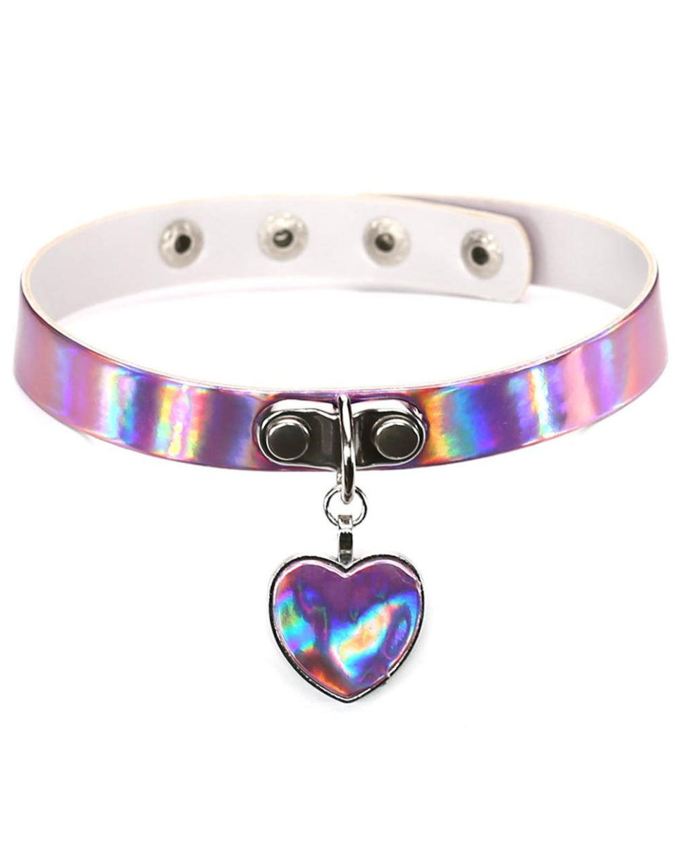 Stackable Heart Choker