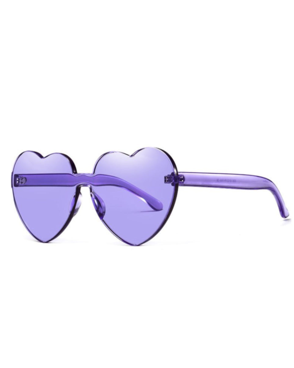 Lolita Heart-Shaped Sunglasses