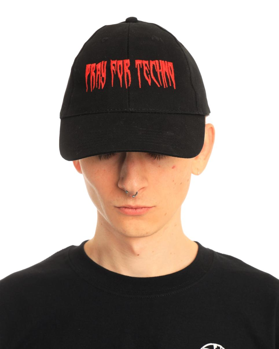 Pray For Techno Dad Hat