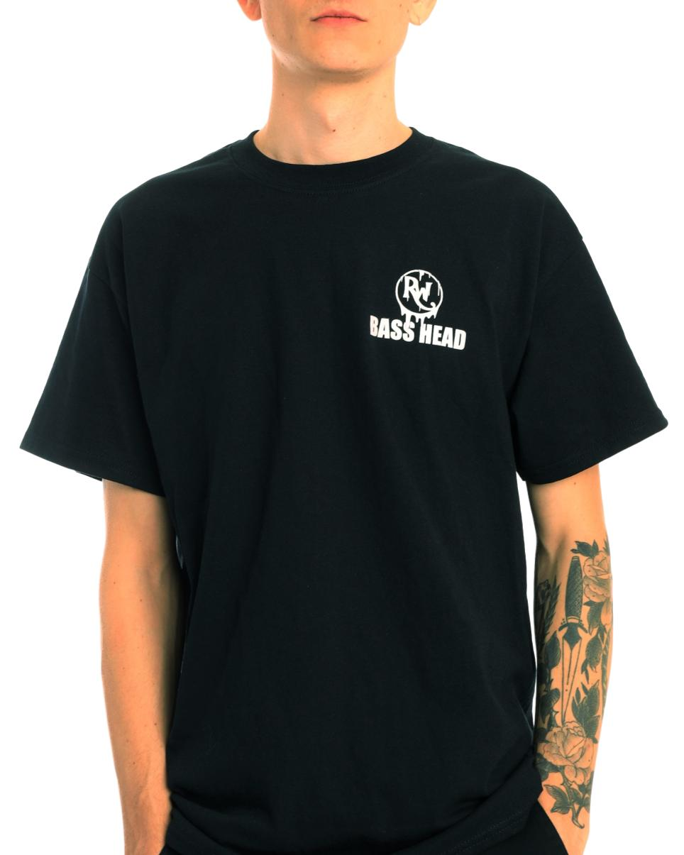 Bass Head Melting Skull T