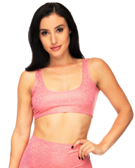 Candy Seamless Rave Crop Top