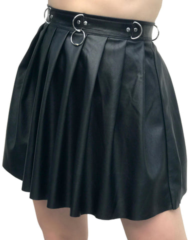 Goth BB Pleated Skirt