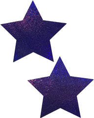 Star Solid Glitter Pasties (Available in 7 Colors) -  rave wear, rave outfits, edc, booty shorts