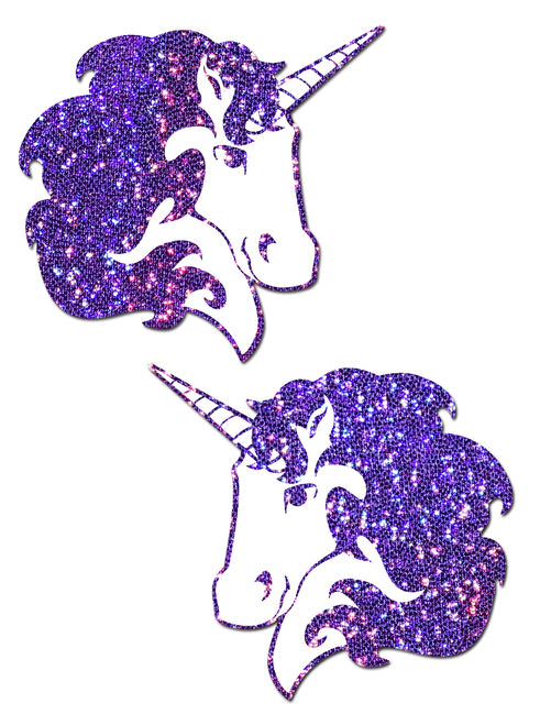 Glitter Unicorn Nipple Pasties