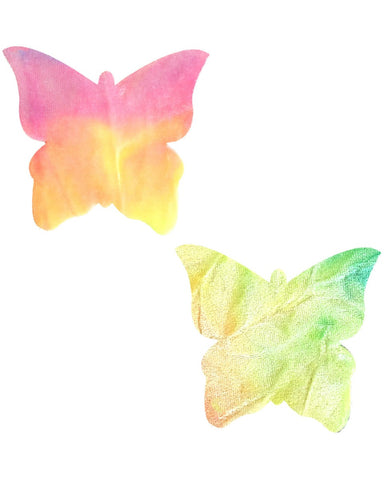 Rainbow Sherbet Butterfly Pasties