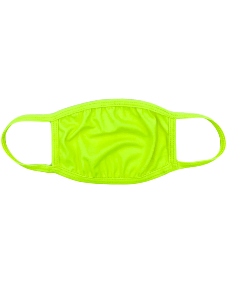 Neon Nights Yellow Surgical Mask