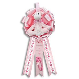 Kellis 1681 Baby Girl Giraffe Announcement 126204