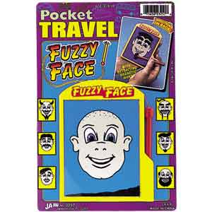 Fuzzy face travel game