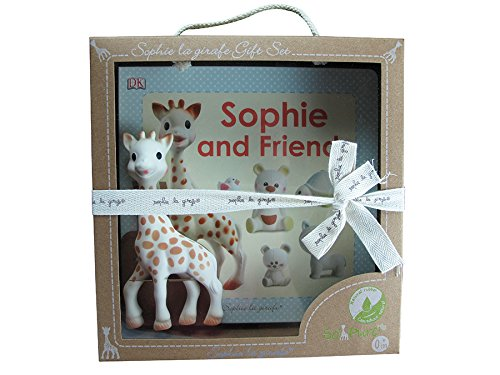 Sophie la Girafe Gift Set 128398 Sophie and Friends Book