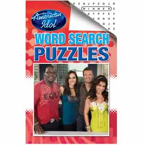 American Idol pocket digest word search books