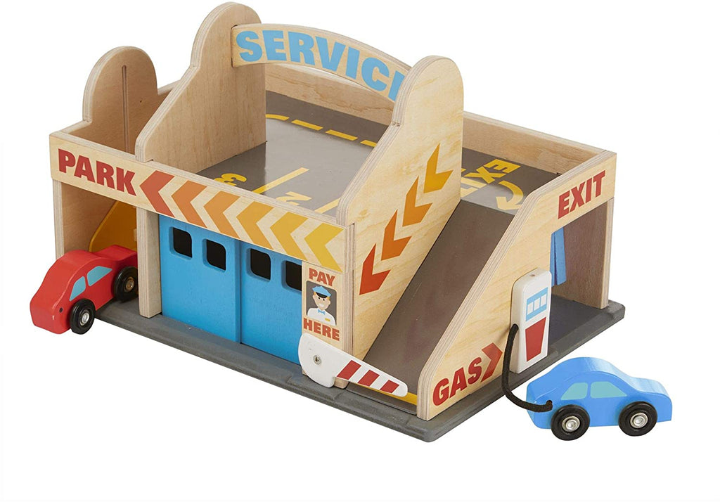 Melissa & Doug Service Station Parking Garage 131841